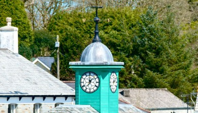 View of Camelford Town Hall