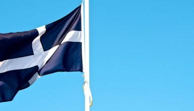 Cornish flag at Camelford