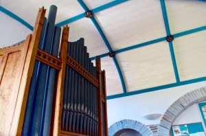 Impressive organ in the Church of St Thomas of Canterbury