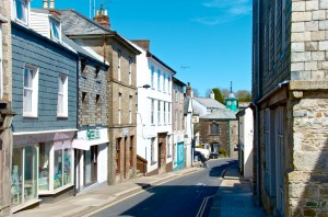 View from Fore Street Camelford